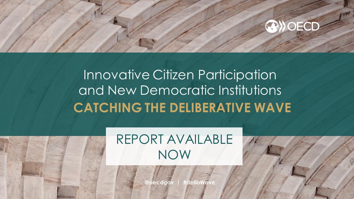Cover OECD-Bericht über Deliberative Demokratie